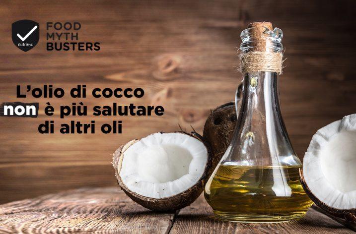 L'olio di cocco NON è più salutare di altri oli
