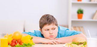 Bimbo sovrappeso e scelta alimentare