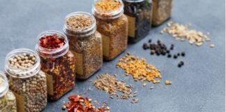 contenitori spezie peperoncino pepe