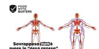 Sovrappeso non è avere le ossa grosse
