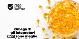 integratori omega 3 non meglio della dieta