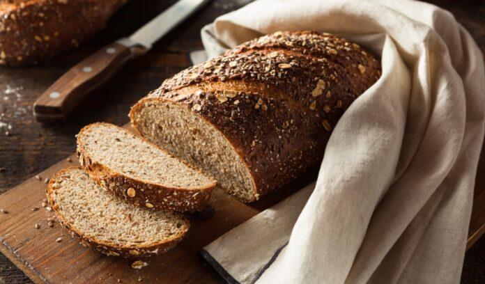 pain complet tranché