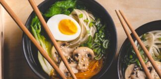 Ramen, zuppa tradizionale orientale